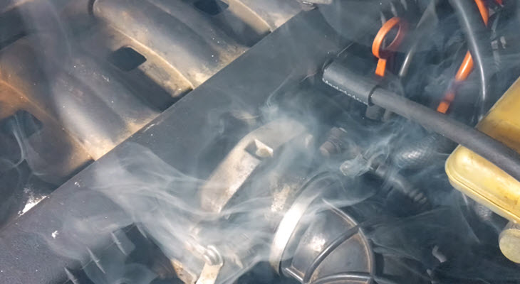 Overheated Acura Engine