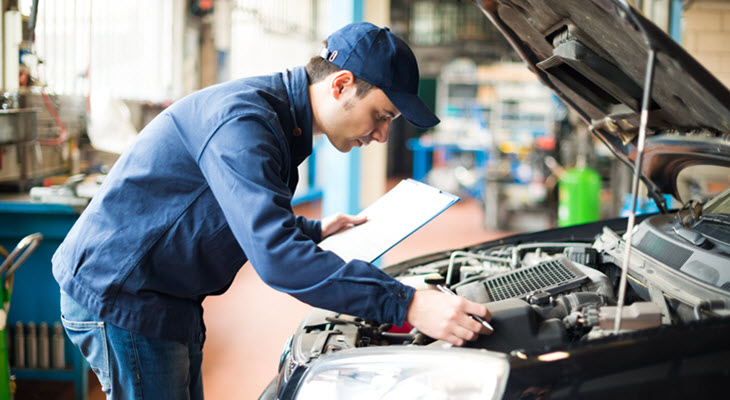 Subaru Engine Inspection