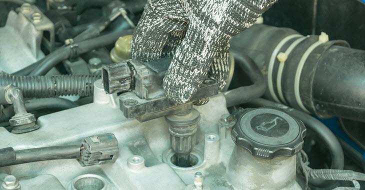 BMW Damaged Ignition Coil Change