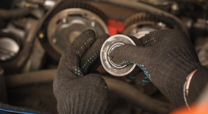 Mercedes Belt Tensioner Check